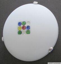 Design Deckenlampe Wandlampe näve Glas Weiß Punkte farbig bunt Perlmutt art E27
