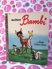 Walt Disney's BAMBI #D90 a Little Golden Book (1948) EXC. VG+