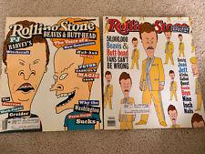 ROLLING STONE MAGAZINE LOT, 2 Beavis & Butt-Head, Aug. 19 1993 & March 24 1994