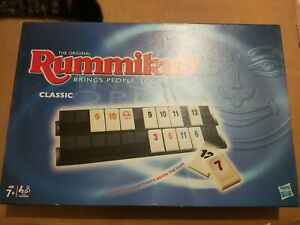 Hasbro The Original Rummikub Tile Game Classic Excellent Condition & Complete