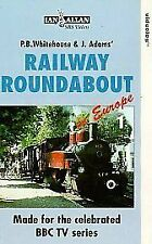 Railway Roundabout In Europe : 1 (VHS) Steam Railway VHS Video Tape ~ BBC TV