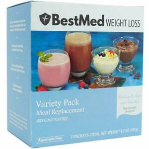 Variety Meal Replacement  - Pudding & Shake Mix (7/Box) - BestMed Weight Loss