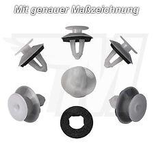 15x Tür Verkleidung Befestigung Clips + Dichtung für Mercedes-Benz | A0069884378