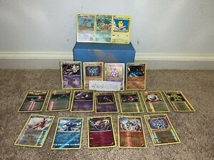 Pokemon collection lot Good Condition Cards Holos, Reverses, And Rares