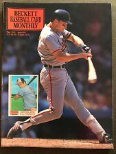Cal Ripken 1991 Beckett Baseball Card Monthly Issue #74 Barry Bonds