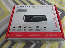 NETGEAR WNDA3100v2 N600 Wi-Fi USB ADAPTER 802.11a/b/g/n Dual Band
