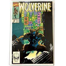 WOLVERINE comic #24 (Marvel, 1990) VERY FINE