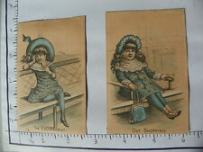 "2 HYDE PARK CLOTHING CO; ""OUT SHOPPING"" GIRL PURSE; ""THE EXCURSIONIST"" GIRL 1219"