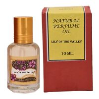 Natural Lily of the Valley Alcohol Free Vegan Ittar Perfume Oil 10ml India