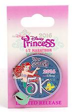 NEW Run Disney Princess Half Marathon 2016 Little Mermaid Ariel 5K Pin
