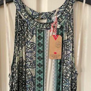 Lee Cooper Printed Maxi Dress Size 16 - BNWT