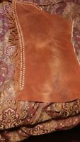 WESTERN SUEDE CHAPS PREOWNED