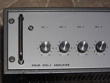 VINTAGE Paso solid state t120-tr 170w Power Amplifier Amplificatore Italia 1980'
