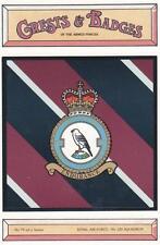 ROYAL AIR FORCE ( RAF ) 120 SQUADRON POSTCARD ( CRESTS & BADGES SERIES )
