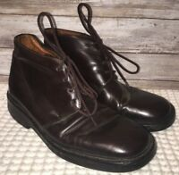 Banana Republic Mens Dark Brown Lace Up Shoes Size 9.5D