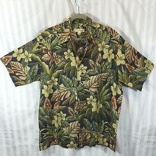 Tori Richard Sz L Large Button Down Short Sleeve Hawaiian Camp Shirt Cotton Lawn