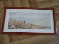 "/'Twilight over Dartmoor./' 8/""x12/"" Museum quality fine art limited edition print."