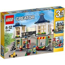 Lego 3in1 Creator 31036 Toy and Grocery Shop Unopened Set