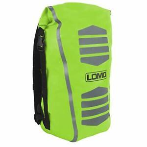 Lomo 30L Waterproof Hi Viz Cycling Dry Bag Rucksack