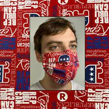 Republican Trump Cotton Face Mask Handmade Washable Reusable wire nose Reuse
