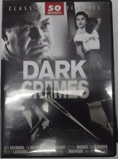 Dark Crimes Classic 50 Features, Baby Face Morgan, Gaslight ECt DVD 071717DBDVD