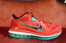 release date: b363e acb17 TRIED ON Nike Air Max LEBRON IX 9 Low LIVERPOOL RED BLACK WHITE 510811-601