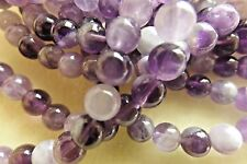 QUALITY GRADE B BANDED AMETHYST BEADS GEMSTONES 6MM ROUND 16 INCH STRANDS