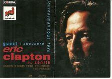 RARE / TICKET BILLET DE CONCERT - ERIC CLAPTON : LIVE A PARIS ( FRANCE ) 1990