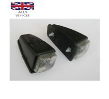 2 X BIANCO SIDE MARKER TETTO Lampada Luce angolo 12 / 24V mod per RENAULT MERCEDES FORD