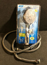 "Camco 43713 Shower Head Kit with On Off Switch and 60"" Hose Chrome RV Camper"