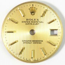 Rolex Datejust Perpetual Oyster Ladies Golden 69173 Watch Face Dial 19.9mm 20mm