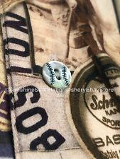 Robert Graham Limited Edition Nostalgic Baseball Button Front Shirt Men's 2XL