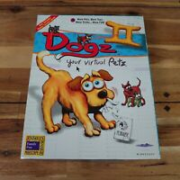 Dogz II Your Virtual Petz PC CD-ROM Big Box Version Fully Complete All Paperwork