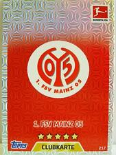 Match Attax 2017/18 Bundesliga - #217 1. FSV Mainz 05 - Club / Wappen