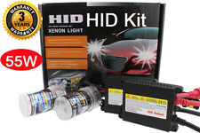 Slim 55W H10 9145 HID Fog Light Conversion Replacement Kit 8K 8000K Ice Blue