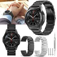 Stainless Steel Strap Watch Band For Samsung Galaxy Gear S3 Frontier/ Classic US