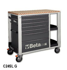 Beta Tools C24SL/G Mobile Roller Cabinet Tool Box Work Station Roll Cab Grey Rol