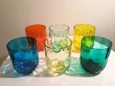 Set 6 Bicchieri in vetro di Murano Venini - Esagonali, NUOVO e ORIGINALE