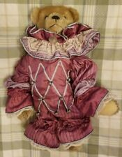 Gorham Beverly Port Time Machine Musical Mohair Teddies: Bear, Clothes, Necklace