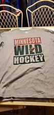 Minnesota Wild Nhl Team apparel 47 Brand L/S shirt L
