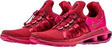 NEW NIKE WOMEN'S SHOX GRAVITY RARE RED CRUSH WILD CHERRY RUNNING SHOES SIZE 8