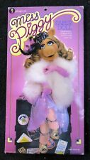 1980 Henson Miss Piggy Stand Up Doll with Costumes and Wigs