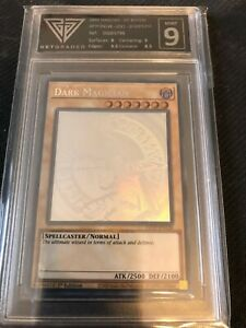 Yu-Gi-Oh! Dark Magician - Ghosts from the Past - GET GRADED 9