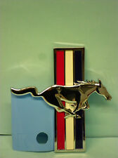 NEW OEM FORD MUSTANG RUNNING HORSE EMBLEM FENDER PASSENGER SIDE RH 6R3Z-16228-A