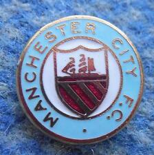 MANCHESTER CITY ENGLAND SOCCER FOOTBALL FUSSBALL 1980's ENAMEL PIN BADGE