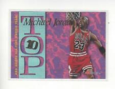 1995-96 Hoops Top Ten #AR7 Michael Jordan Bulls