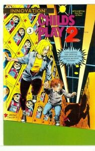 CHILD'S PLAY 2 #1-3 Chucky CLASSIC Horror Innovation COMPLETE NM- (9.2) SET