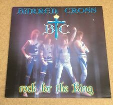 BARREN CROSS  Rock For The King 1986 Canadian vinyl LP  EXCELLENT CONDITION