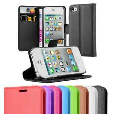 Case for Apple iPhone 4 / 4S Phone Cover Protective Book Kick Stand