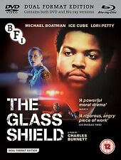 THE GLASS SHIELD Michael Boatman Ice Cube BLURAY+DVD in Inglese NEW .cp